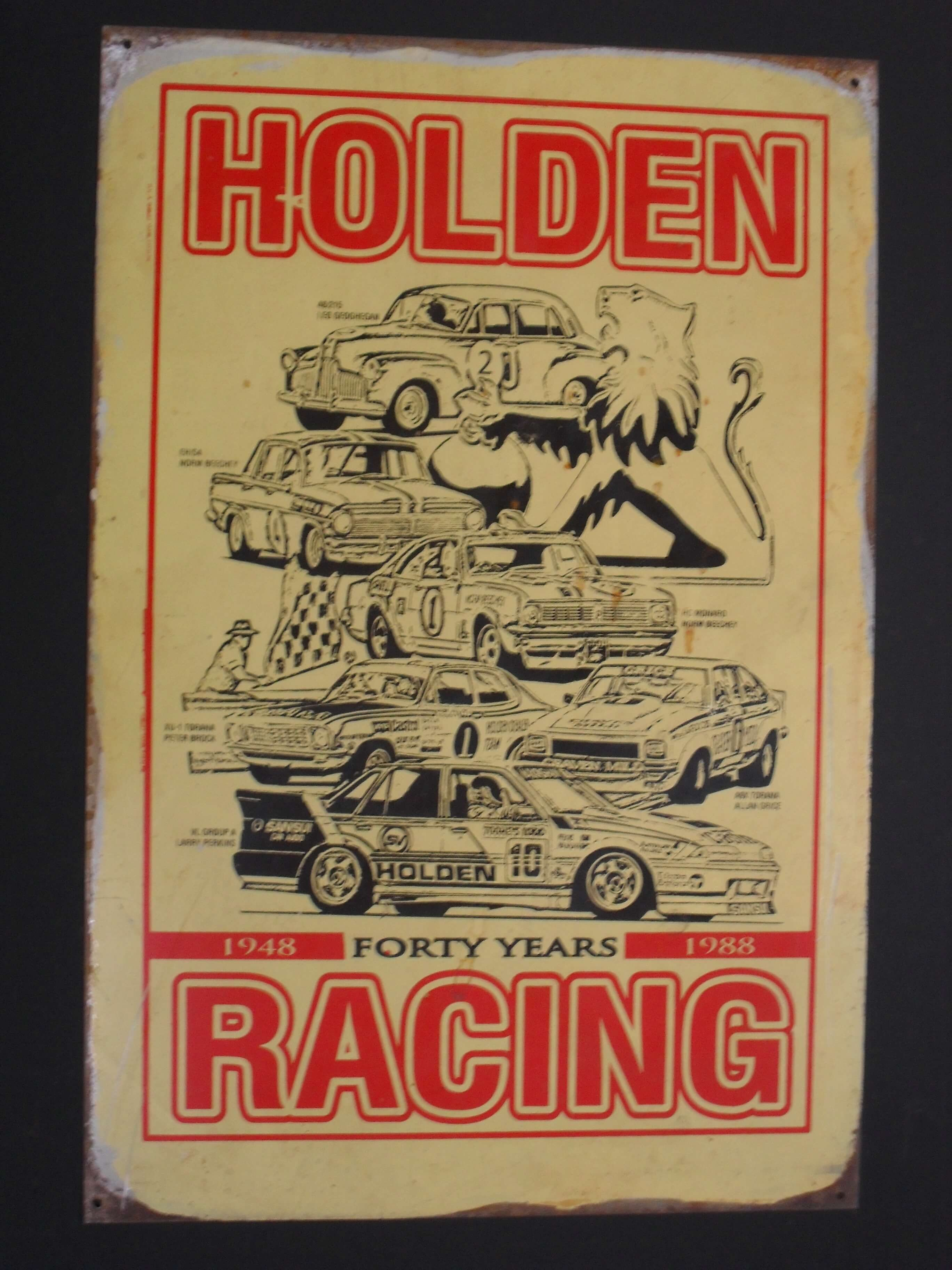 Holden 40 years of racing