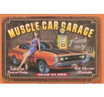 Charger Muscle Car Garage