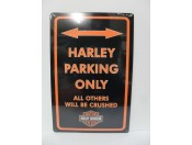 harley-parking-only