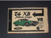 ford xb coupe v8 or 6